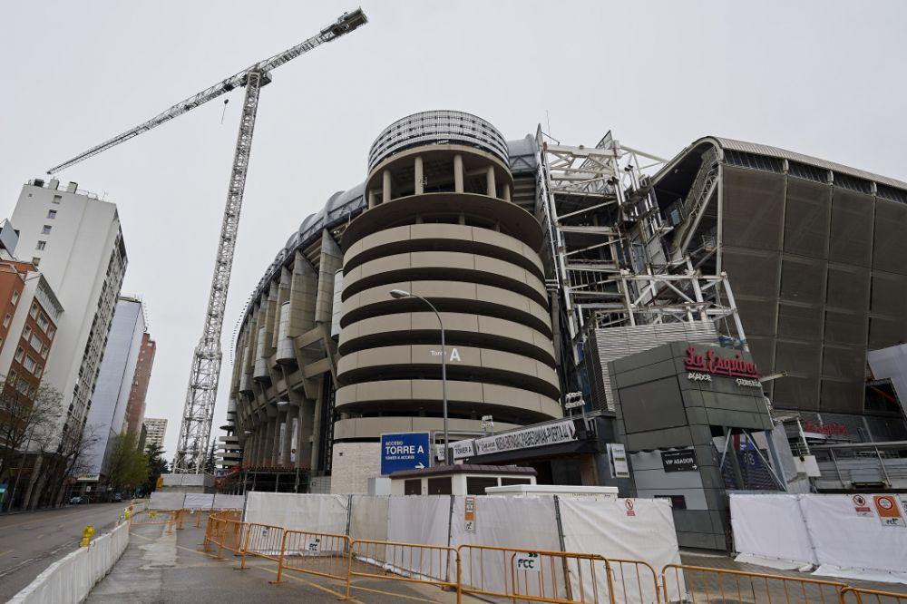 Motivul pentru care Real Madrid s-a grabit sa renoveze stadionul Santiago Bernabeu! Investitia URIASA pe care au facut-o in plina pandemie