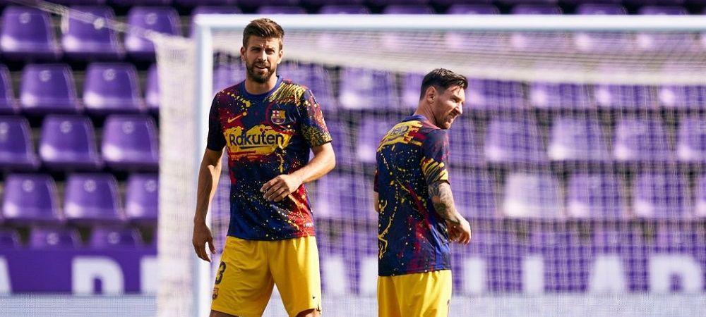 "Pique a rupt tacerea! ""Este revoltator ca au dat bani ca noi sa fim criticati!"" Dezvaluiri INCREDIBILE: ce mesaj i-a trimis lui Messi cand si-a anuntat plecarea"