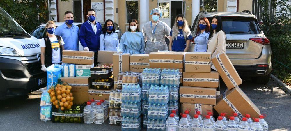 (P) Mozzart Bet face donatii de 75 000 lei catre spitalele Covid