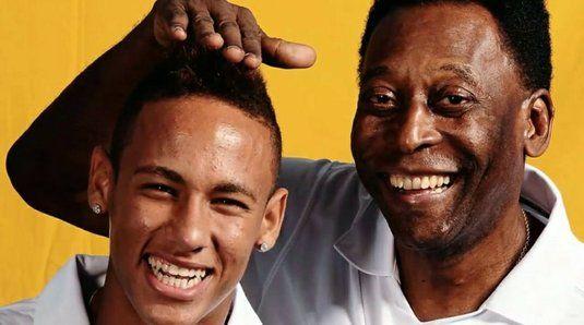 Neymar il elogiaza pe LEGENDARUL Pele chiar de ziua lui! Starul lui PSG s-a pozat in aceeasi ipostaza ca fostul mare atacant