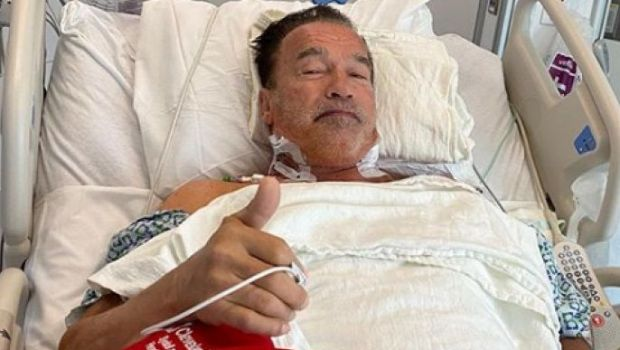 """""""MA VOI INTOARCE!"""", in varianta reala. Arnold """"TERMINATOR"""" Schwarzenegger a trecut peste a doua operatie la INIMA. Pozele cu care si-a linistit fanii"""
