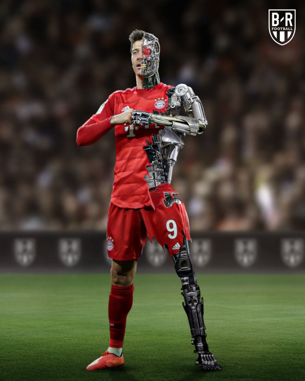Sa-l opreasca cineva daca poate! Lewandowski e un MONSTRU: 10 goluri in 5 etape! Cu Eintracht a reusit hattrick perfect: a marcat cu stangul, cu dreptul si cu capul