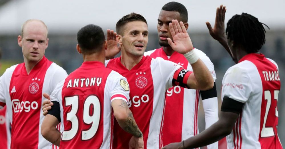 INDECENT! MASACRU pe teren! Ajax a calcat-o in picioare pe Venlo chiar la ea acasa: show monstruos in Olanda! S-a terminat 12-0