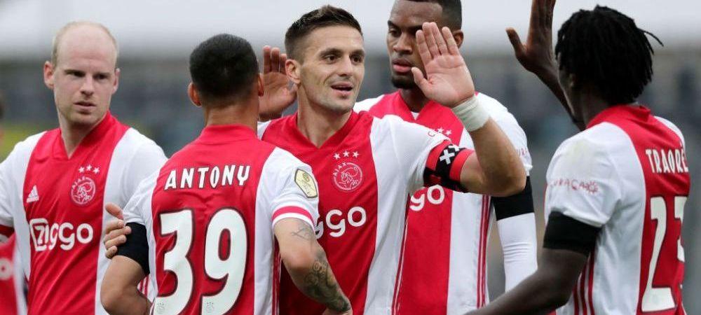 Gest superb facut de Ajax pentru suporteri dupa cucerirea titlului! Ce s-a intamplat cu trofeul de campioana