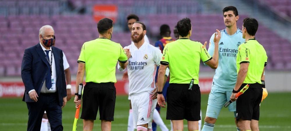 Postare INCREDIBILA a lui Betis dupa penalty-ul primit de Real in El Clasico! Faza IDENTICA la Sevilla in meciul cu madrilenii, arbitrul nu a dictat NIMIC