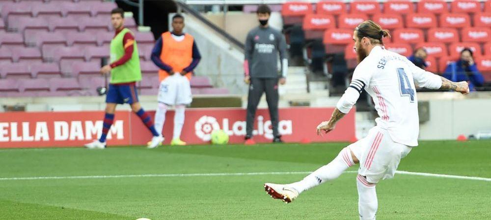 """""""A fost destul de corect!"""" Prima reactie a lui Ramos dupa ce a INVINS-O pe Barcelona pe Camp Nou! Ce a spus despre penalty-ul primit"""