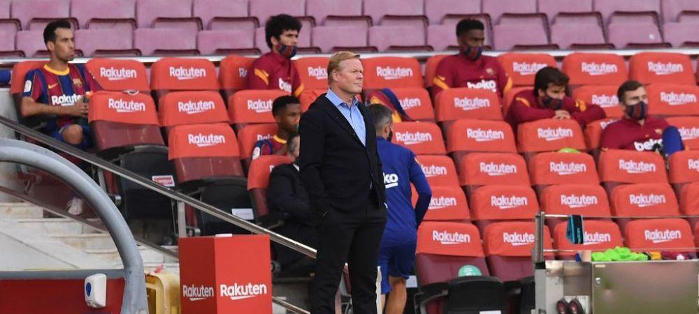 """Koeman si-a IESIT DIN MINTI la finalul meciului cu Real: """"VAR apare doar la decizii impotriva Barcelonei!"""" Reactia dura a antrenorului"""