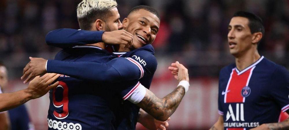 MAGIE, nu fotbal! Neymar si Mbappe au facut faza saptamanii! Gol MINUNAT pentru PSG