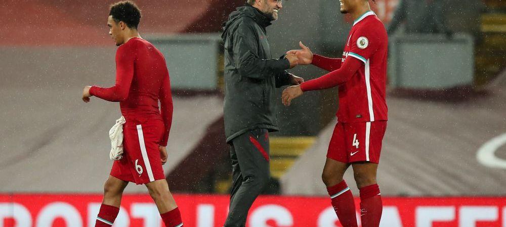 Klopp nu a stat prea mult pe ganduri si a gasit deja inlocuitor pentru Van Dijk! Pe ce fundas a pus ochii antrenorul german