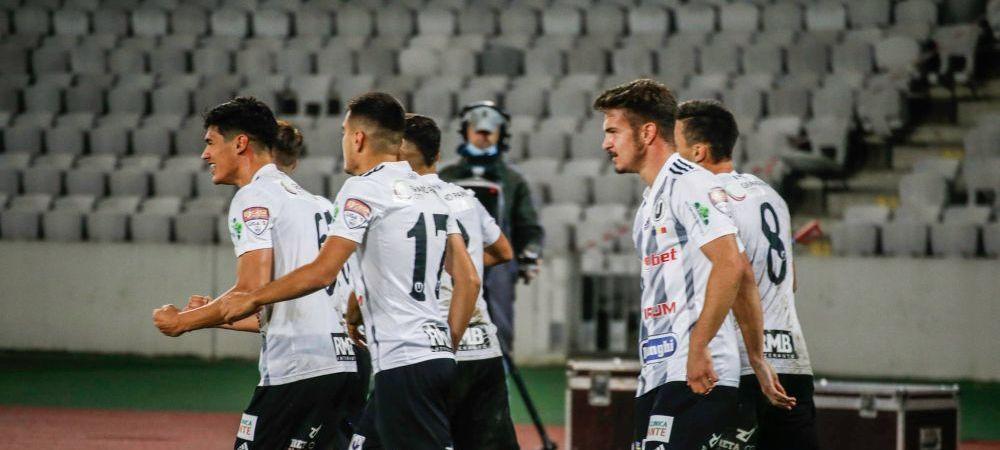 """CS Mioveni 0-1 """"U"""" Cluj! Victorie pentru un loc pe podium dupa un gol SUPERB al lui Negrean! Surprize URIASE in clasamentul pentru playoff"""