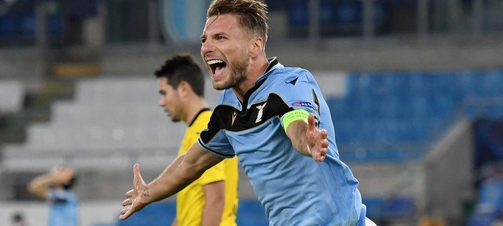 Probleme pentru Lazio inaintea meciului din Champions League! 8 jucatori in frunte cu Immobile au lipsit de la antrenament din cauza suspiciunilor de COVID-19