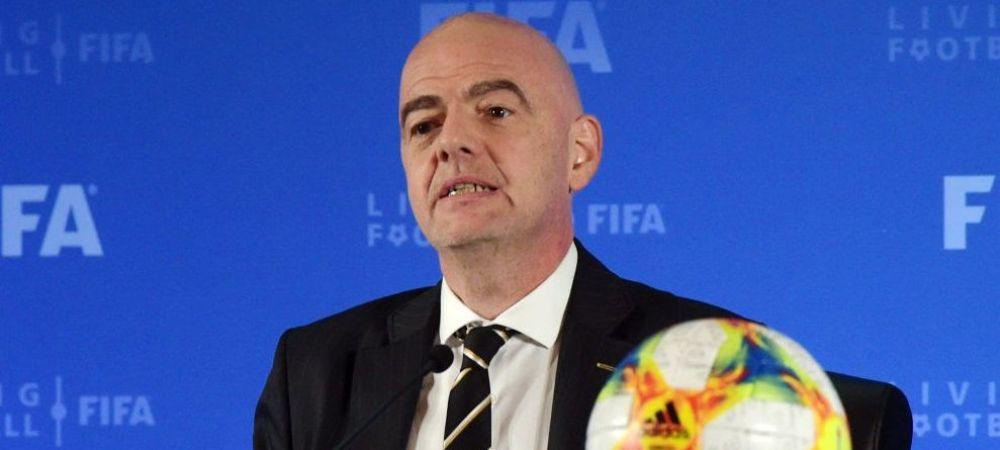 Presedintele FIFA, testat pozitiv cu Covid-19! Care este starea de sanatate a lui Gianni Infantino! Anuntul facut de FIFA