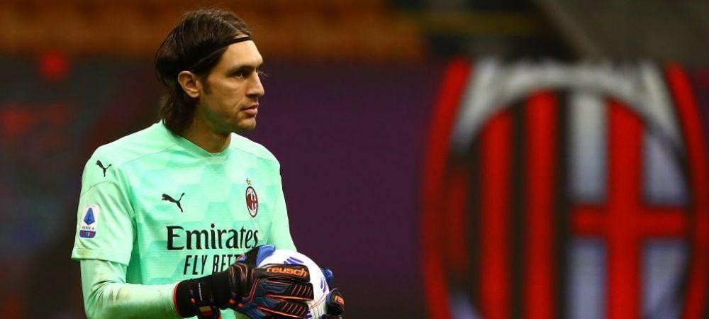 """Tatarusanu, sub lupa unui fost jucator de la AC Milan dupa gafa din meciul cu AS Roma: """"Este mult mai bun decat fratele lui Donnaromma"""""""