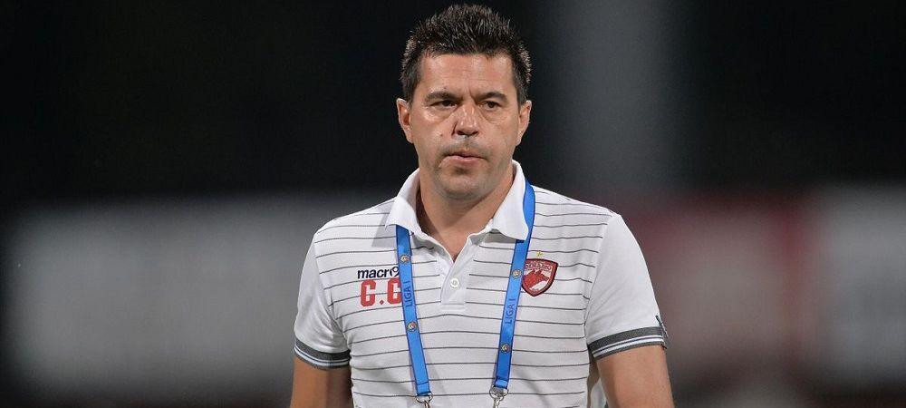 """Disperare mascata de calm la Dinamo! """"Nu mai avem timp si nu avem o echipa sudata!"""" Ce le-a spus Cosmin Contra jucatorilor dupa infrangerea cu Sepsi"""