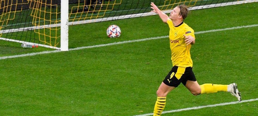 Bestia NU SE MAI OPRESTE! Haaland, 12 goluri in 10 meciuri de Champions League! Cum a marcat cu Zenit