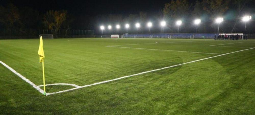 Lucrarile la stadionul din Targoviste s-au blocat, dar FRF a inaugurat o arena moderna in oras