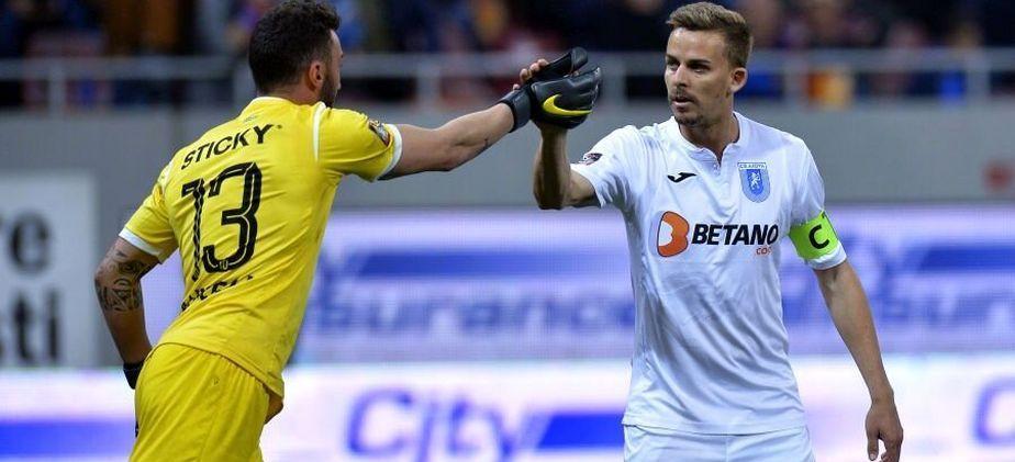 Hermannstadt 0-1 Craiova | Pigliacelli si Bancu, oamenii decisivi ai oltenilor! Portarul Craiovei a aparat un penalty si Bergodi se desprinde in fruntea clasamentului din Liga 1