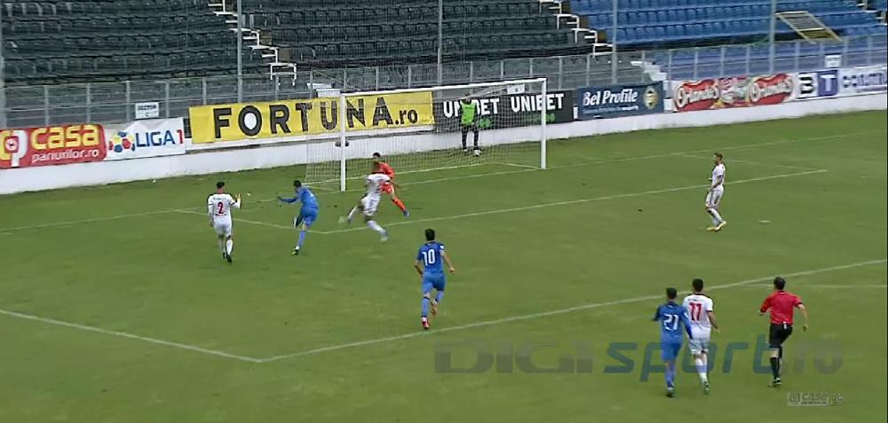 Rusescu a marcat primul gol dupa revenirea in Liga 1 si se gandeste la nationala! Ce a spus atacantul despre o posbila convocare