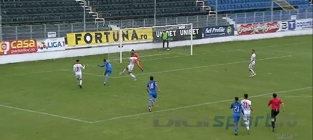 Rusescu a marcat primul gol dupa revenirea in Liga 1 si se gandeste la nationala! Ce a spus atacantul despre o posibila convocare