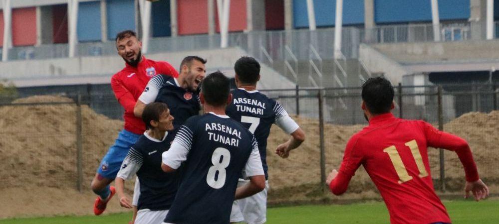 Pas gresit pentru Steaua! Echipa antrenata de Daniel Oprita a remizat cu CS Tunari pe teren propriu