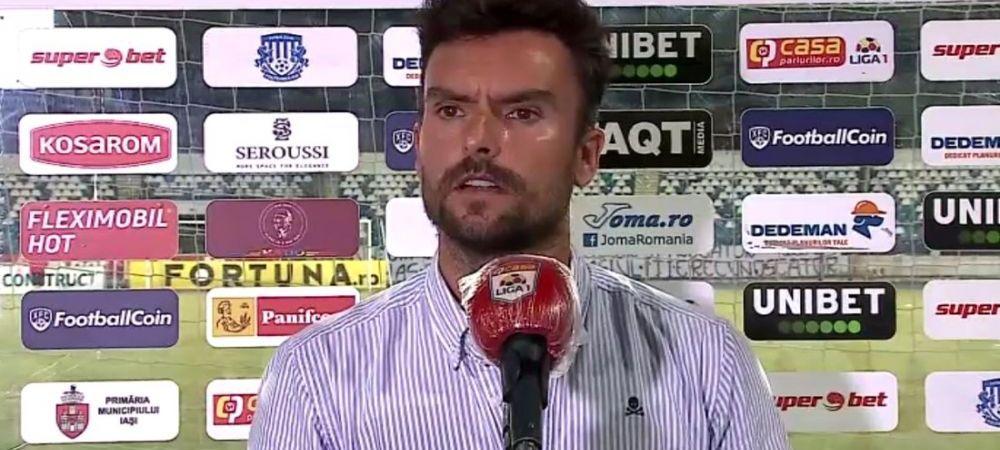 """Hermannstadt nu a mai castigat de patru meciuri, dar Ruben Albes este optimist: """"Sunt mandru de fotbalistii mei!"""""""