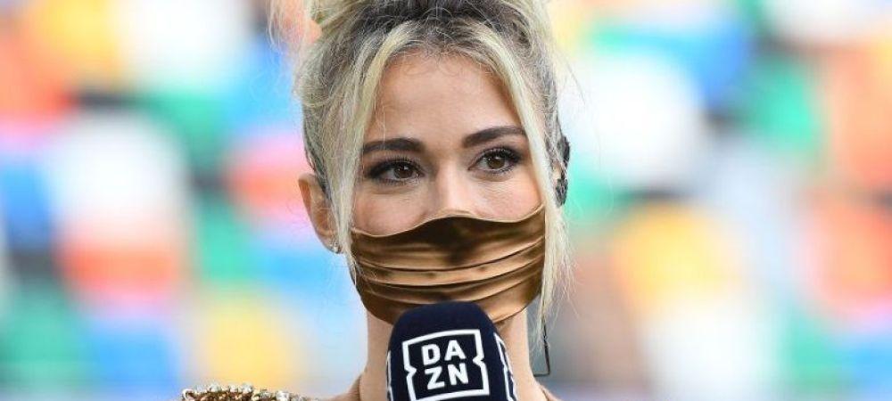 "Diletta Leotta a iesit la ""INTALNIRE"" cu Ibrahimovic. Tinuta SUPER-SEXY cu care a vazut pe viu SUPER-GOLUL lui Zlatan pe ""Dacia Arena&quot"