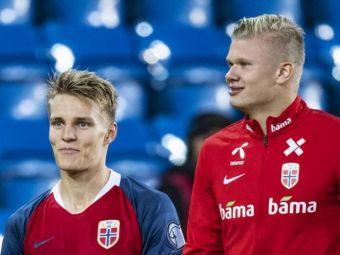 O, nu! Odegaard s-a refacut si vine in Romania pentru duelul din Nations League! Haaland e si el pe lista: vezi lotul Norvegiei