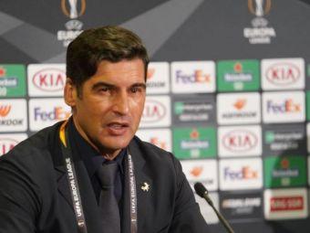 Sansa pentru CFR inaintea meciului cu Roma! Paulo Fonseca se gandeste sa foloseasca rezervele impotriva echipei lui Dan Petrescu