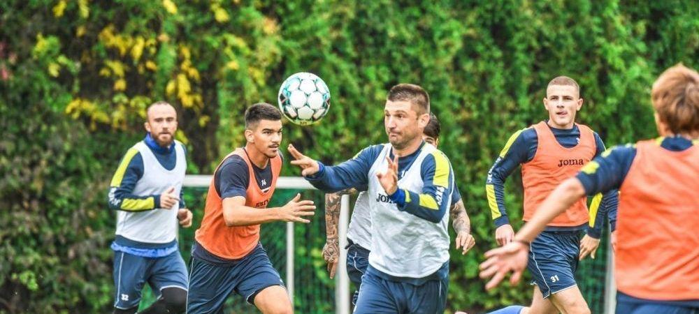 """Scandal la Poli Iasi! Daniel Pancu l-a EXCLUS din lot pe Andrei Cristea: """"A plecat de la antrenament fara sa-mi spuna!"""" Critici la adresa atacantului"""