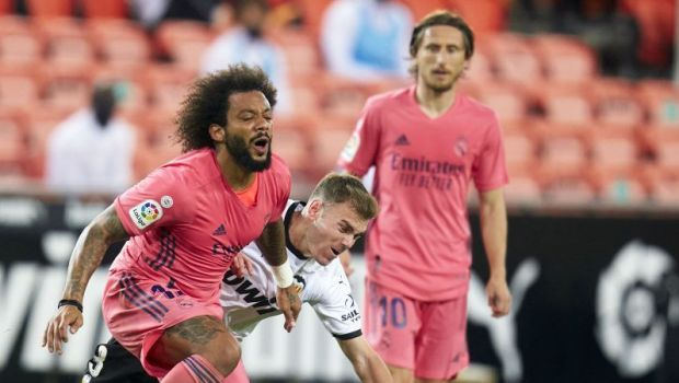 "Marcelo, desfiintat de presa iberica dupa Valencia 4-1 Real Madrid:""Este inacceptabil"""