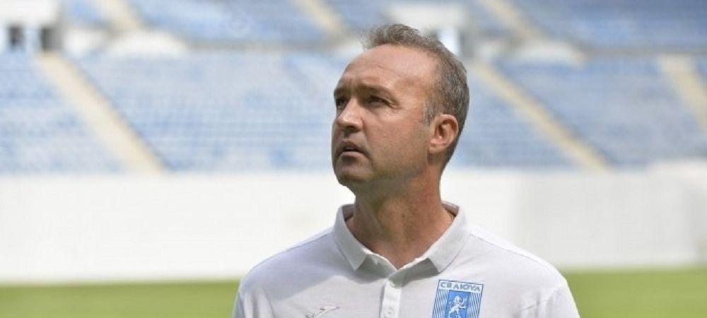 Cornel Papura revine in Banie!Universitatea Craiova si-a anuntat noul staff tehnic!Ce conditii a pus antrenorul pentru a prelua echipa