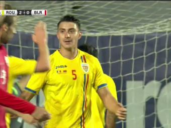 Nedelcearu e Haaland al Romaniei! :)) Rupe TOT la nationala! A marcat de doua ori si a dat un assist cu Belarus