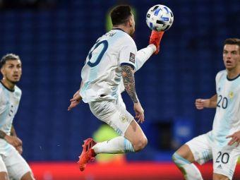 Meci de COSMAR pentru Messi la nationala! A inscris al DOILEA gol din actiune din acest sezon, dar a fost anulat de arbitru dintr-un motiv ABSURD