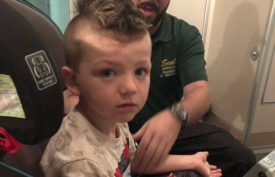 Si-a lasat fiul de 4 ani nesupravegheat si a avut un soc cand s-a intors in camera. Ce-a putut sa inghita copilul