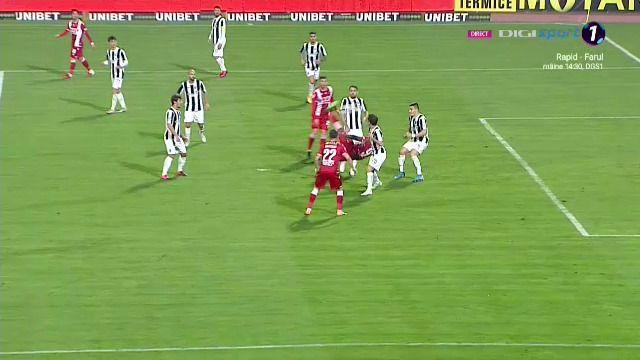 Si ZLATAN aplauda golul asta! Executie FABULOASA a lui Gueye: foarfeca perfecta la golul lui Dinamo