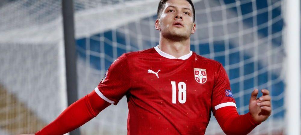 Serbia 5-0 Rusia | Show total facut de nationala lui Jovic!Sarbii au ajutat Romania sa prinda urna a doua pentru preliminariile Campionatului Mondial