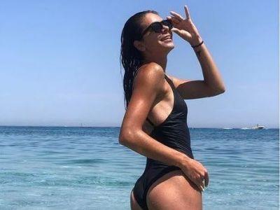 GALERIE FOTO SEXY   Andreea Mitu a incins atmosfera pe Instagram: jucatoarea de tenis arata senzational la doi ani si jumatate dupa nastere