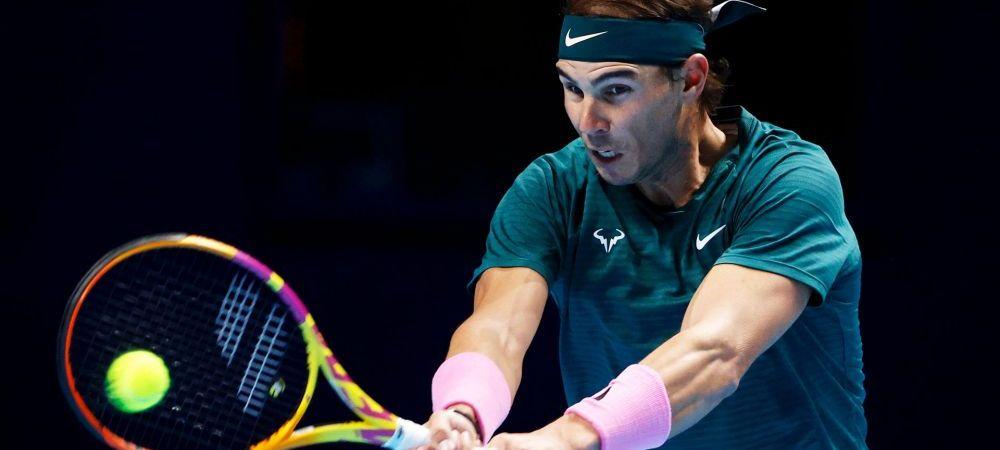 Se cunosc toti semifinalistii Turneului Campionilor 2020! Nadal vs. Medvedev si Djokovic vs. Thiem, semifinalele de sambata