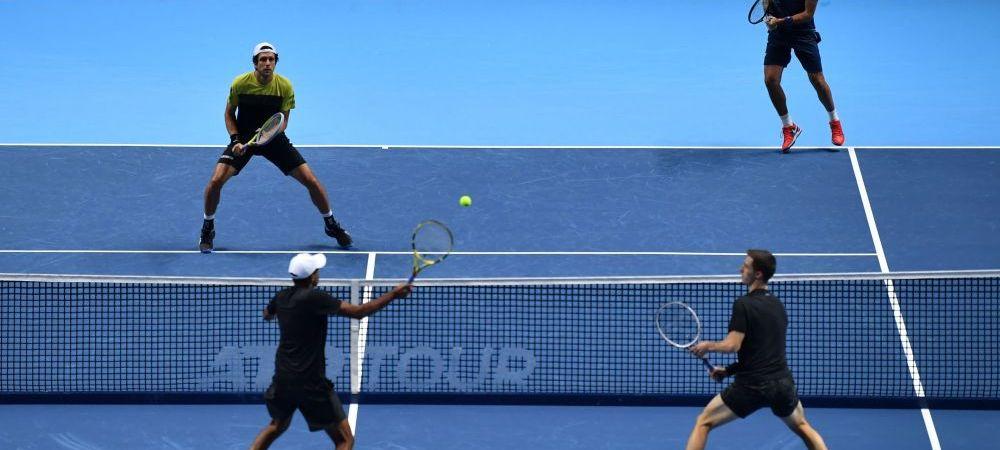 VIDEO | Cel mai nebun punct al anului in tenisul de dublu s-a jucat la Turneul Campionilor!