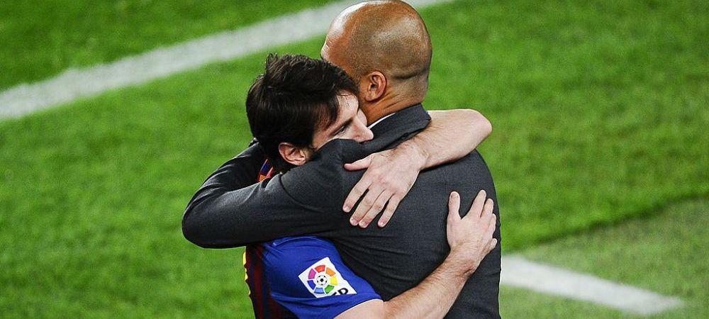 """City pregateste OFERTA pentru Messi, dar Guardiola surprinde cu ultima declaratie: """"Sper ca Messi sa ramana la Barcelona!"""""""
