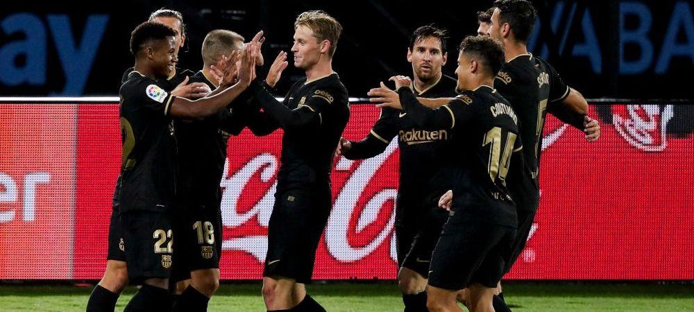 Jucatorul care i-a luat fata lui Messi pe Camp Nou in era Koeman! Olandezul l-a titularizat in toate partidele la Barcelona!