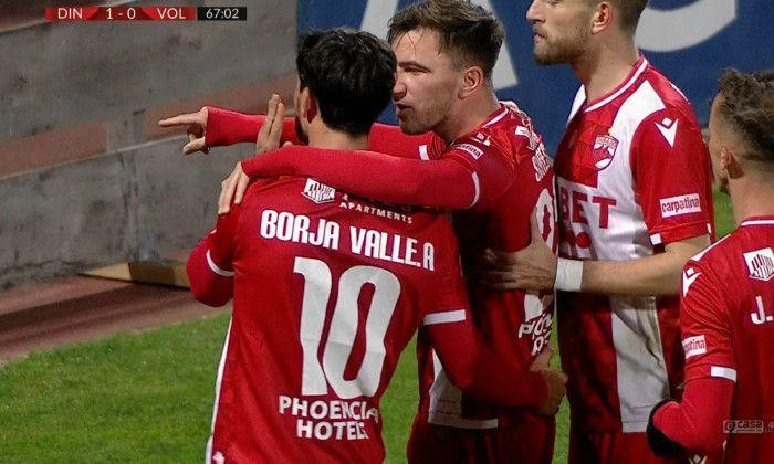 Reactia lui Borja Valle dupa ce i-a adus lui Dinamo prima victorie in acest sezon de Liga 1! Ce a postat spaniolul pe Instagram