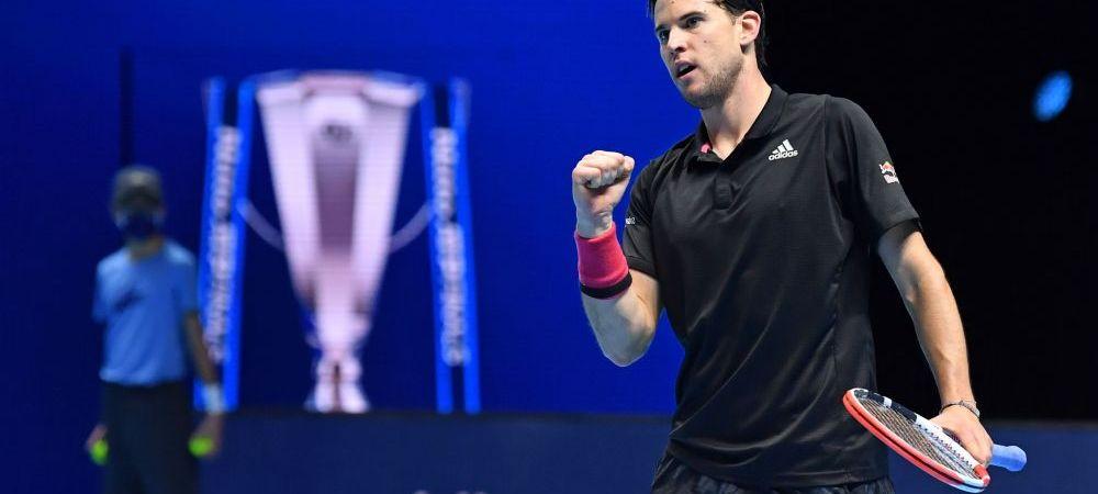 Semifinala DE INFARCT! Dupa aproape 3 ore de joc si cinci mingi de meci salvate, Novak Djokovic CAPITULEAZA in fata lui Dominic Thiem   VIDEO: cele mai spectaculoase puncte