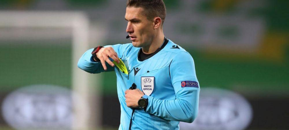 Kovacs, schimbat in ULTIMUL MOMENT la meciul Botosani - Craiova, dupa ce a fost testat POZITIV cu Covid-19! Urma sa arbitreze in cupele europene