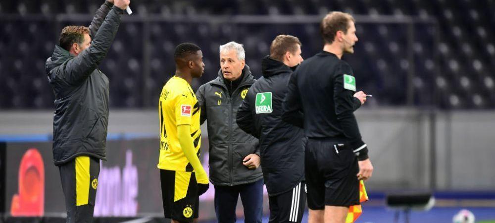 Debut pentru ISTORIE! Bijuteria lui Dortmund, trimis pe teren in locul bestiei Haaland! Moukoko, cel mai tanar jucator din istoria Bundesliga