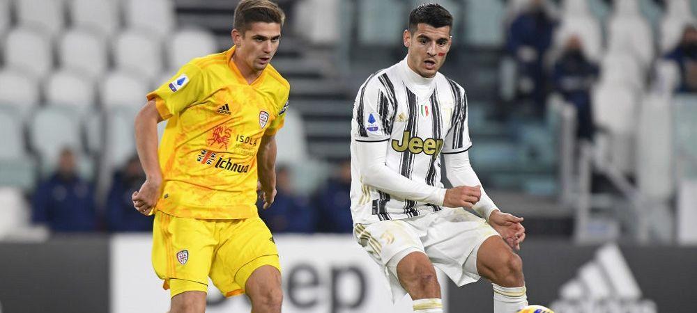 Razvan Marin nu a impresionat in duelul cu Ronaldo! Ce nota a primit romanul dupa meciul cu Juventus