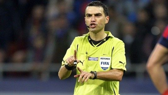 Inca un meci de Champions League pentru Ovidiu Hategan! Ii va arbitra pe Bruno Fernandes si Rashford in United - Basaksehir