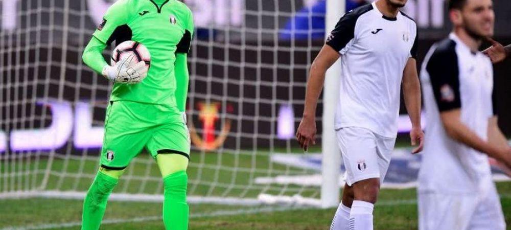 """David Lazar a inchis poarta in partida cu Hermannstadt si a demonstrat de ce merita sa fie la echipa nationala! Ce spune despre relatia cu Tatarusanu: """"Stiam ca o sa se retraga"""""""