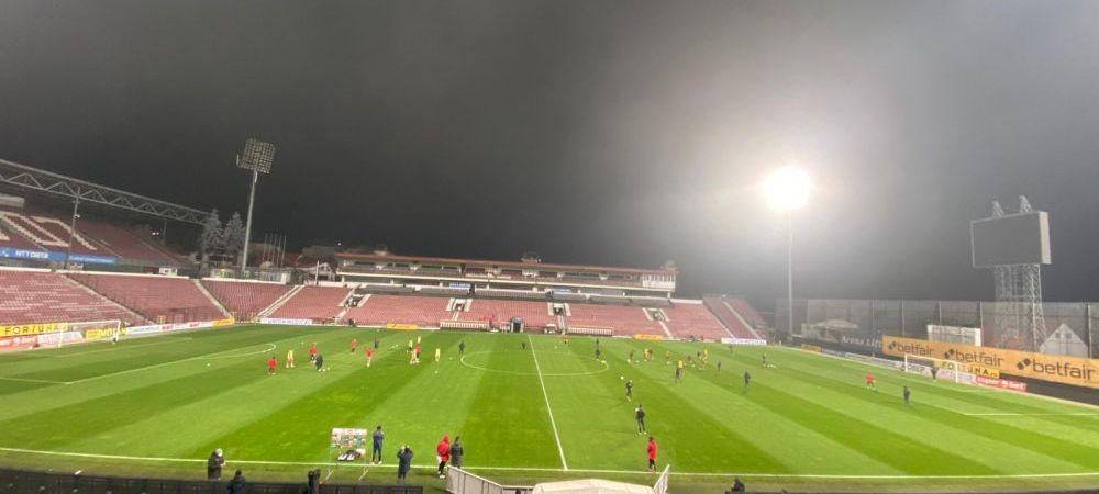 CFR Cluj, aproape sa o ia pe urmele lui Poli Iasi! Probleme cu nocturna din Gruia inainte de startul meciului cu UTA