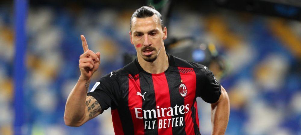 Cine il mai opreste?! Zlatan, dubla de SENZATIE in poarta lui Napoli la 39 ani! E golgheter in Serie A cu 10 goluri in 6 meciuri
